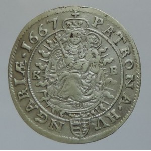 Leopold I. 1657-1705, VI krejcar 1667 KB