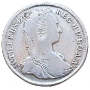 Marie Terezie 1740-1780, XV krejcar 1744 KB