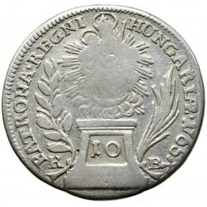 Marie Terezie 1740-1780, 10 Krejcar 1765 KB