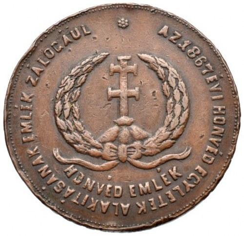 FJI., medaile na korunovaci v Budíně