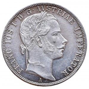 Konvenční a spolková měna, zlatník 1860 A