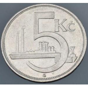ČSR 1918-1939, 5 Kč 1929