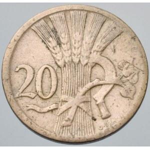 ČSR 1918-1939, 20 hal. 1925 R