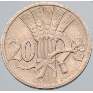 ČSR 1918-1939, 20 hal. 1927