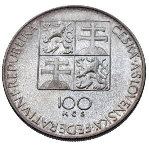 ČSR 1945-1992, 100 Kč 1991 - Stavovské divadlo