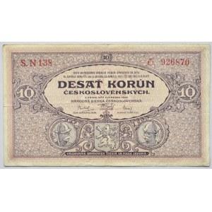 Československo - bankovky Národ. banky Československé, 10 Kč 1927