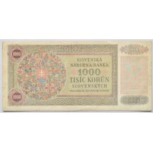 Slovensko 1939-1945, 1000 Ks 1940