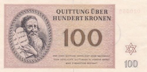 Poukázky Terezínského ghetta, 100 K 1943