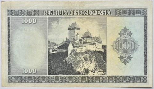 Československo - státovky londýnské emise, 1000 Kč b.l. (1945)