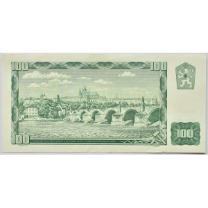 Československo - bankovky a státovky 1958 - 1964, 100 Kč 1961