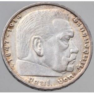 Německo - III. Říše, 5 marka 1939 J