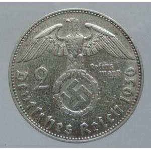 Německo - III. Říše, 2 marka 1936 J