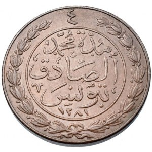 Tunisko, Muhammad al-Sadiq Bey 1859-1862, 4 kharub AH.1281 = 1865
