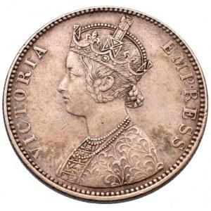 Indie, Victoria 1837-1901, 1 rupie 1890
