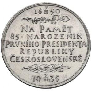 Medaile dle autorů, Španiel.O.-TGM, medaile k 85. narozeninám 1935