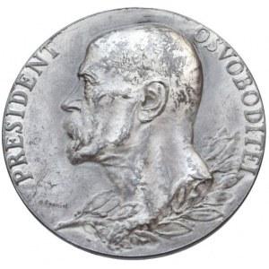 Medaile dle autorů, Španiel O. -TGM, medaile 1937 úmrtní