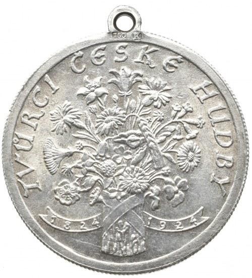 Medaile dle autorů, Španiel, - 100 výročí narození B.Smetany