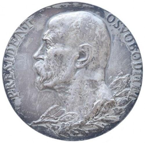 Medaile dle autorů, Španiel, - TGM medaile úmrtní 1937