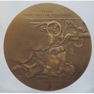 Medaile dle autorů, Zeman, K. 1979: Alfons Mucha, 20. výročí pobočky ČNS v Ivančicích