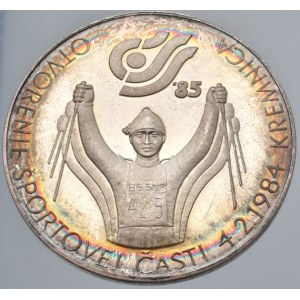 Medaile podle měst, Kremnica - ČOSS 1985, Otvorenie športovej části 4.2.1984, Múzeum mincí a medailí