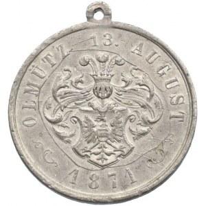 Medaile podle měst, Olomouc - medaile 1871 Zpěváckého spolku v Olomouci