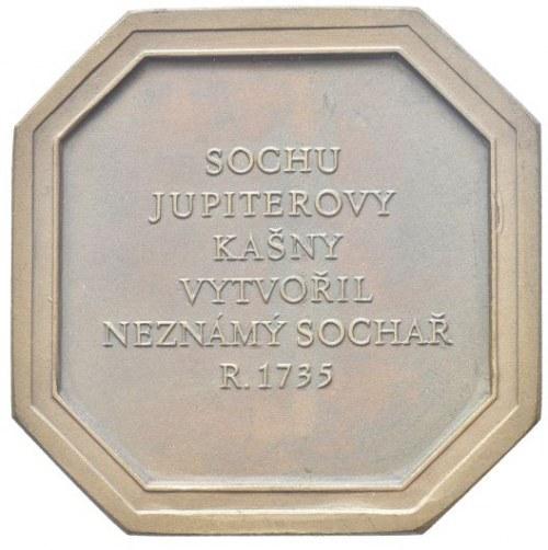 Medaile podle měst, Olomouc - Jupiterova kašna