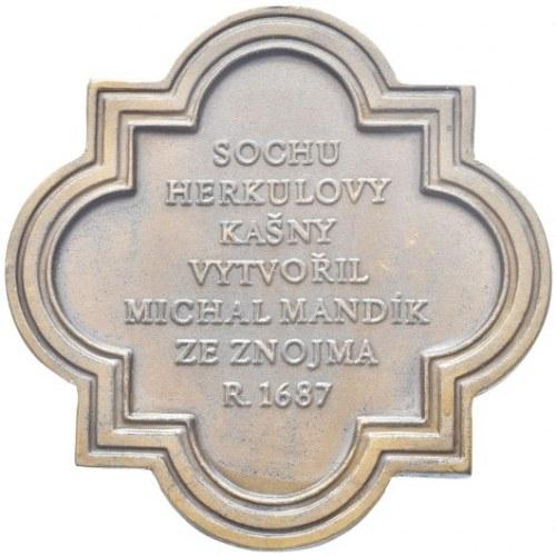 Medaile podle měst, Olomouc - Herkulova kašna 1976