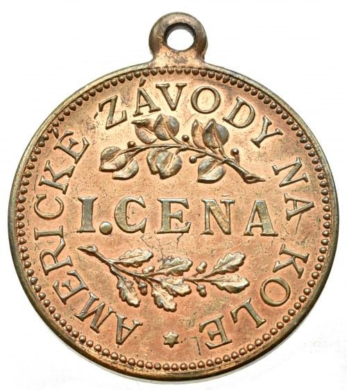 Medaile podle měst, Praha 1908