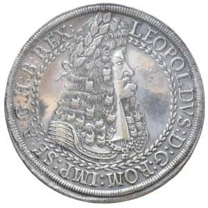 Kopie historických mincí, Leopold I., 2 tolar b.l., Tyroly-Hall