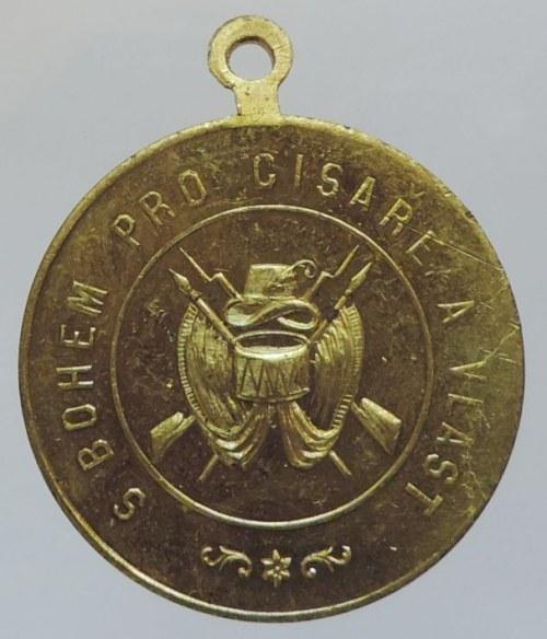 ČSR, AE medailka s ouškem, Spolek vojenských vysloužilen fárnosti Tuřanské