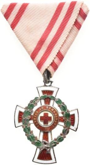 FJI. 1848-1916, čestné vyznamenání za zásluhy o Červený kříž