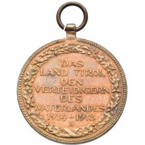 Karel I. 1916-1918, Tyrolská Pamětní Medaile na Válku 1914-1918