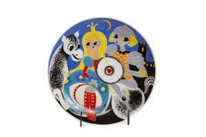 Talerz dekoracyjny, z cyklu: