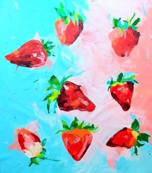 Sylwia Wenska, Strawberry field, 2021