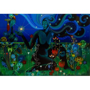 Karolina Matyjaszkowicz (ur. 1980), Noc zapalająca majowe gwiazdy, 2021
