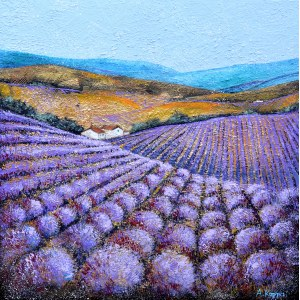 Alicja Kappa (ur. 1973), Zapach w odcieniach fioletu, 2021