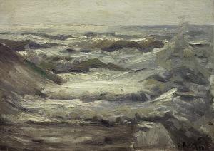 Ruszczyc Ferdynand, FALE MORSKIE, 1898