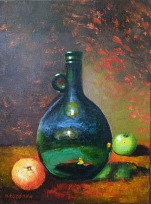 Elżbieta Sanojca(pseud), Martwa natura z pomarańczą