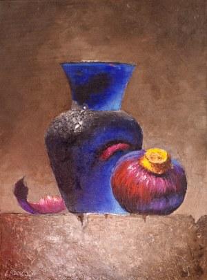 Elżbieta Sanojca(pseud), Martwa natura z cebulą