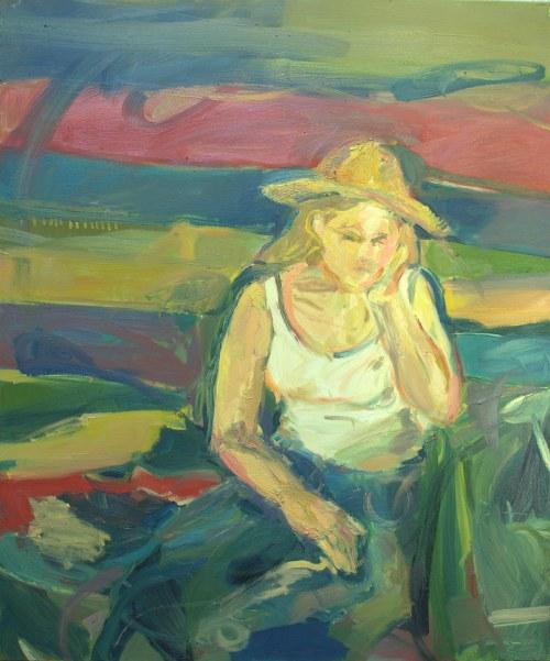 Katarzyna Pitek, Dziewczyna z kapeluszem, 2019