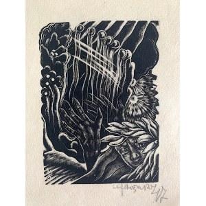 Stefan Mrożewski, Harfista z cyklu: Cyprian Norwid – Trzy miłości, Paryż, 1947
