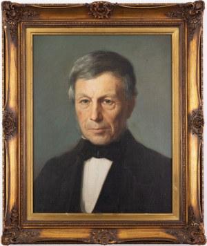 PORTRET MĘŻCZYZNY, k. XIX w.