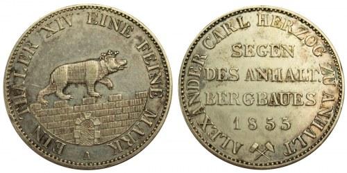 TALAR, Anhalt-Bernburg, Alexander Karl, 1855