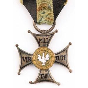 KRZYŻ SREBRNY ORDERU VIRTUTI MILITARI wz. 1919
