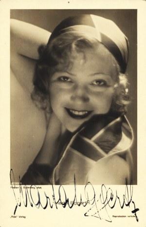 "Marta EGGERTH (1912-2013): Freiherr v. Gudenberg, phot. ""Ross"" Verlag [lata 1930.] - fotografia w sepii..."
