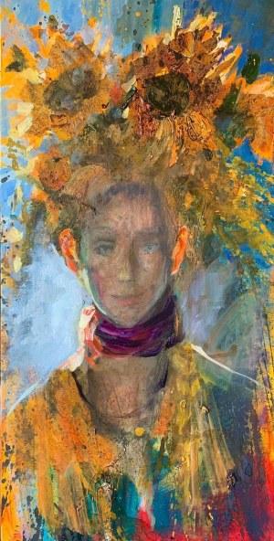 Olga Bukowska, Chłopiec ze świecącymi uszami, 2021