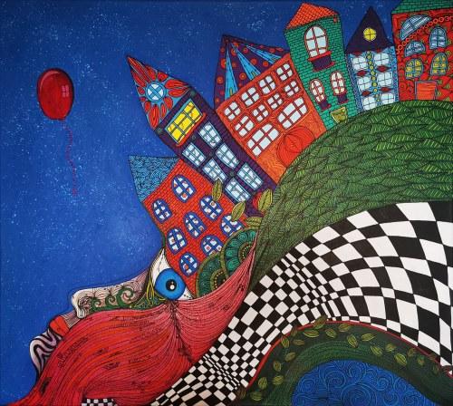 Luiza Poreda, Czerwony balonik, 2021