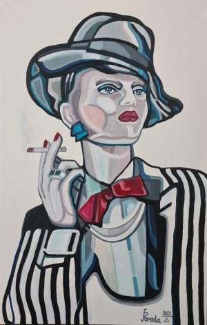 Paweł Porada, Dama z papierosem, 2021