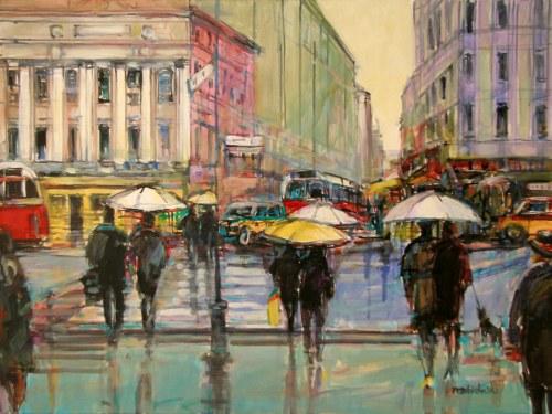 Piotr Rembieliński, Paryż w deszczu, 2020