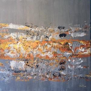 Marta Dunal, Silver structure, 2020